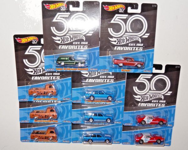 2018 HOT WHEELS FAVORITES FACTORY SEALED CASE RELEASE A